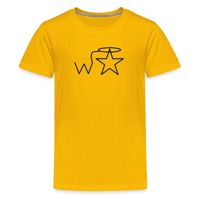 Kids' NAVY Logo Wranglerstar