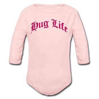 Hug Life ( ) - Long Sleeve Baby Bodysuit
