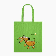 Funny Dog - Ball - Flyball  Bags & backpacks