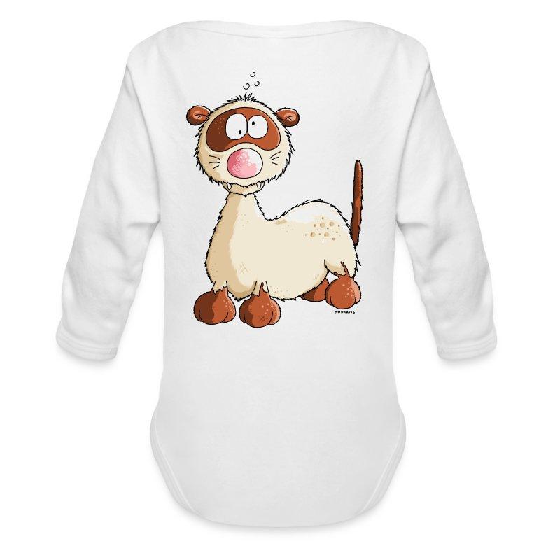 Ferret cartoon baby amp toddler shirts long sleeve baby bodysuit