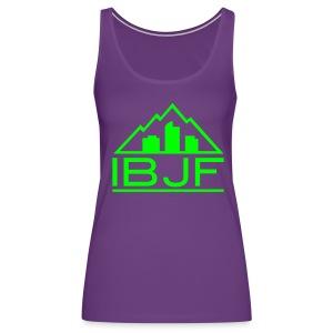 It Burns Joe Fitness - Women's Premium Tank Top