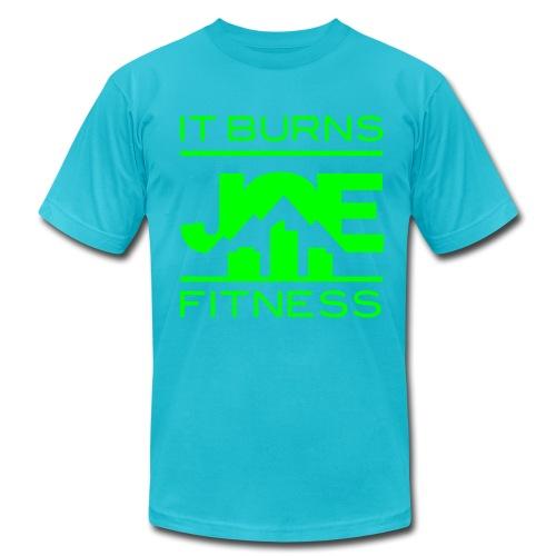 It Burns Joe Fitness - Men's  Jersey T-Shirt