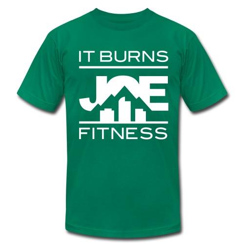 It Burns Joe Fitness - Men's Fine Jersey T-Shirt