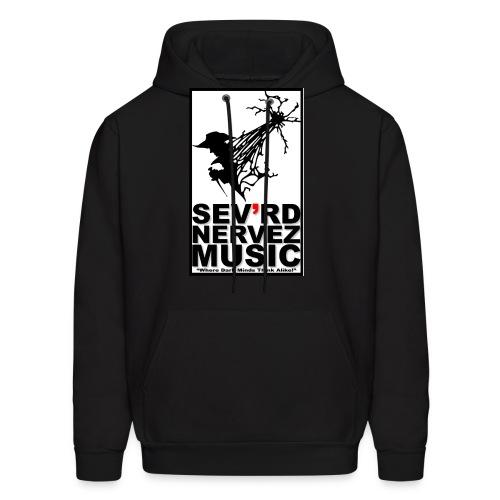 Sev'rd Nervez Music Logo Hoodie SM - XXL - Men's Hoodie