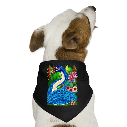 In A Deep Jungle-Snakes - Dog Bandana