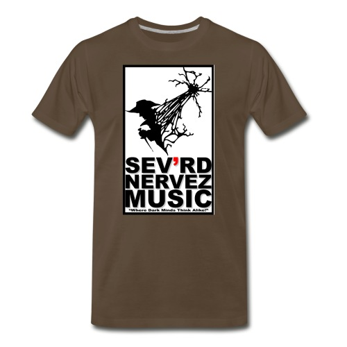 Raven Hunter Brown T Shirt SM-XXXXXL - Men's Premium T-Shirt