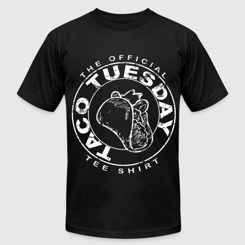 Taco Tuesday - Men's T-Shirt by American Apparel