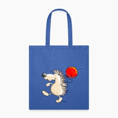 Funny Hedgehog - Balloon Bags & backpacks