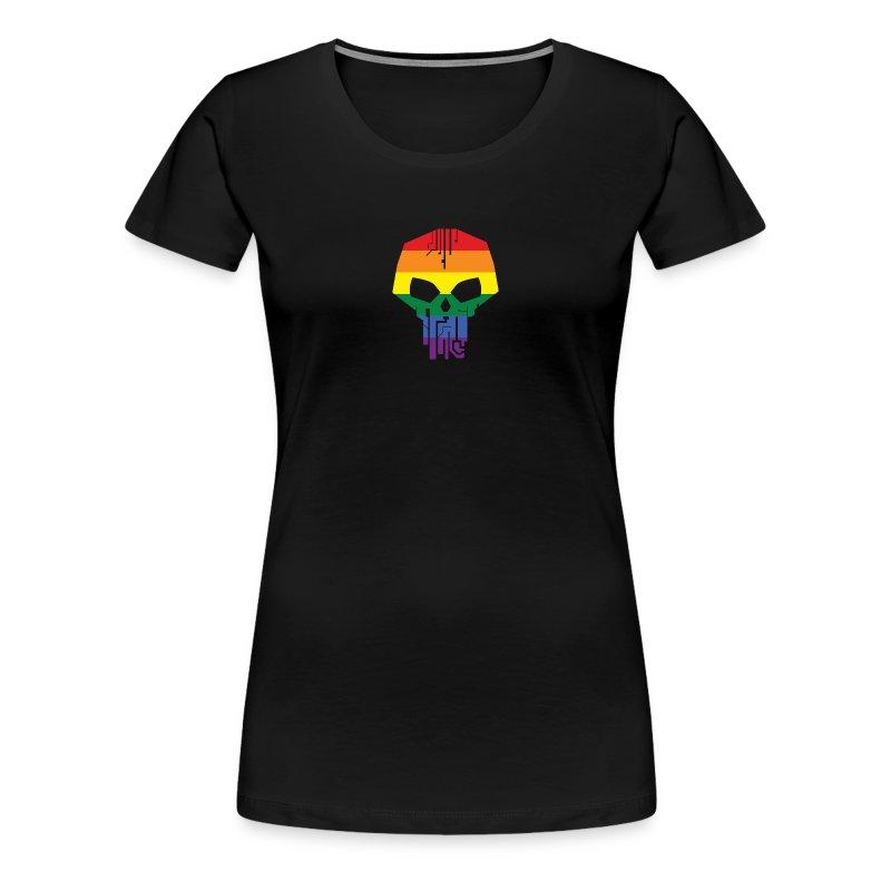 Black Ice LGBT Pride T-Shirt - Women's - Women's Premium T-Shirt