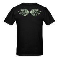 T-Shirts ~ Men's T-Shirt ~ Wings Glow-in-the-Dark