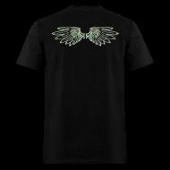 T-Shirts ~ Men's T-Shirt ~ Wings Glow-in-the-Dark
