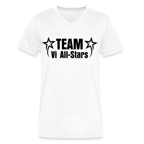 Vi-Allstars Team Shirt - Men's V-Neck T-Shirt by Canvas