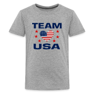 Kids' Shirts ~ Kids' Premium T-Shirt ~ Team USA Soccer