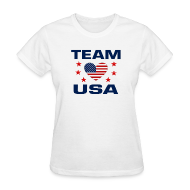 T-Shirts ~ Women's T-Shirt ~ Team USA Soccer