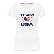 T-Shirts ~ Women's Premium T-Shirt ~ Team USA Soccer