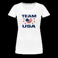 Women's T-Shirts ~ Women's Premium T-Shirt ~ Team USA Soccer