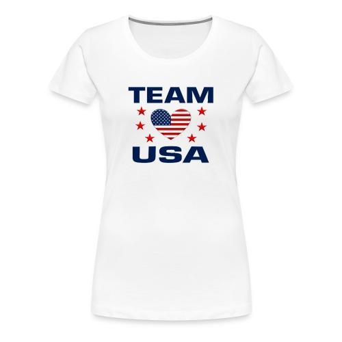 Team USA Soccer - Women's Premium T-Shirt