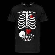 T-Shirts ~ Men's Premium T-Shirt ~ Skeleton X-ray Valentines shirt/mommy (Non-Maternity)