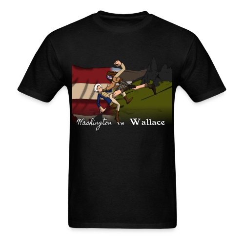 Washington vs Wallace Shirt - Men's T-Shirt