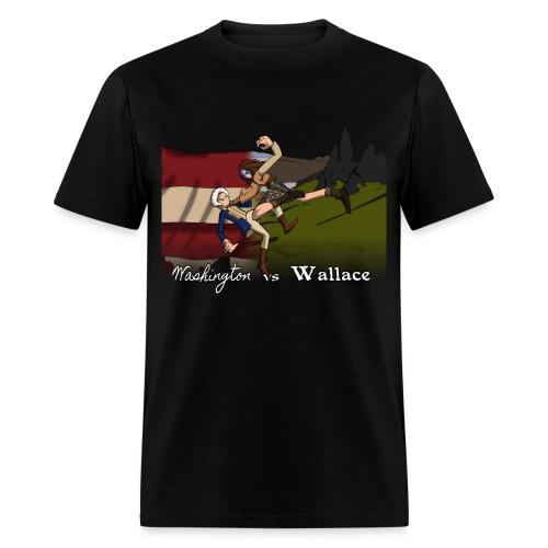 Washington vs Wallace Shirt - Men's T-Shirt