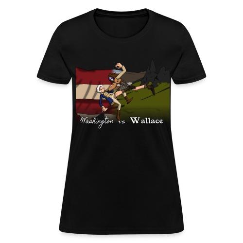 Washington vs Wallace Womens' Shirt - Women's T-Shirt