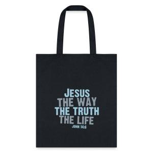 John 14:6 Tote Bag - Tote Bag