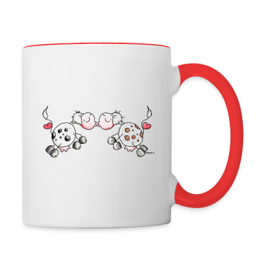 Kiss Cows - Cow - Love Bottles & Mugs