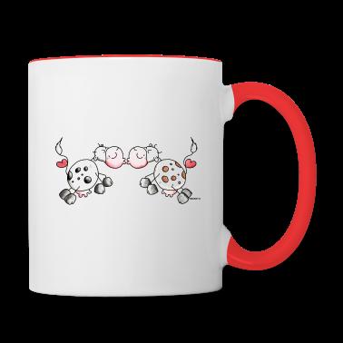 Kiss Cows - Cow - Love Bottles & Mugs