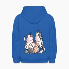 Funny Farm Animals Sweatshirts