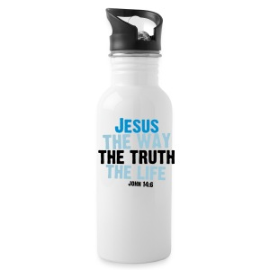 John 14:6 Aluminum Water Bottle  - Water Bottle