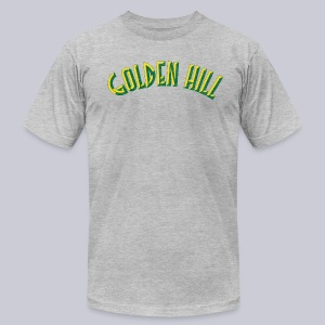 Golden Hill - Men's T-Shirt by American Apparel