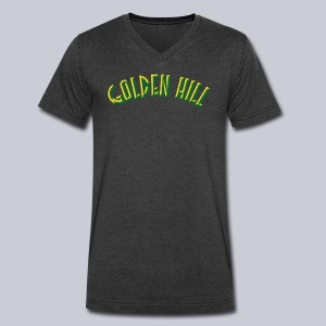 Golden Hill - Men's V-Neck T-Shirt by Canvas