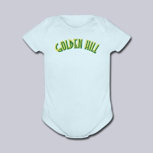 Golden Hill - Short Sleeve Baby Bodysuit