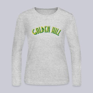 Golden Hill - Women's Long Sleeve Jersey T-Shirt