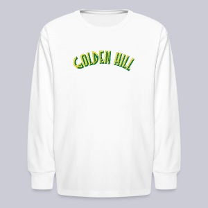 Golden Hill - Kids' Long Sleeve T-Shirt