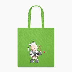 Love Cow - Cows - Heart Bags & backpacks