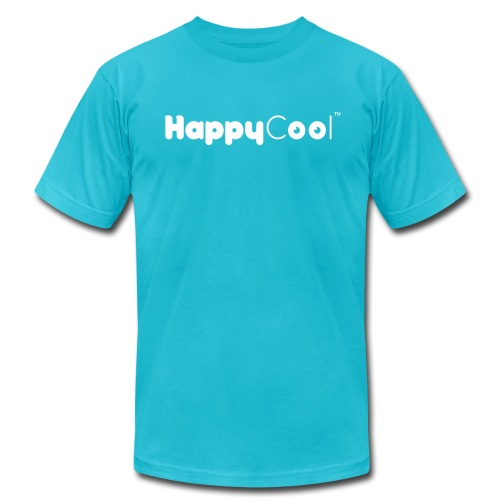 HappyCool Logo - Men's Fine Jersey T-Shirt