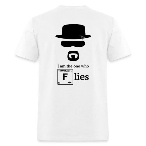 I Am the One That Flies (Back) Short Sleeve T-Shirt for Men - Men's T-Shirt