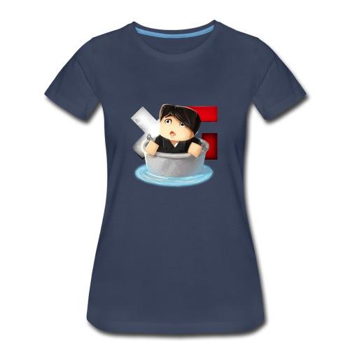 Women's XerainGaming Andre Bucket T-Shirt - Women's Premium T-Shirt