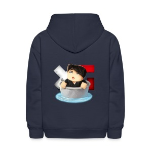 Kid's Navy XerainGaming Andre Bucket Hoodie - Kids' Hoodie