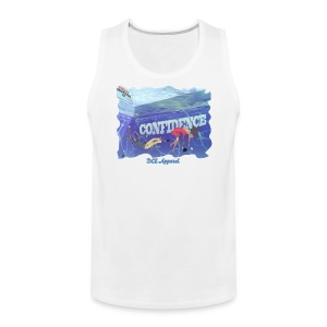 Tank Top Drowning In Confidence | DCE Apparel - Men's Premium Tank