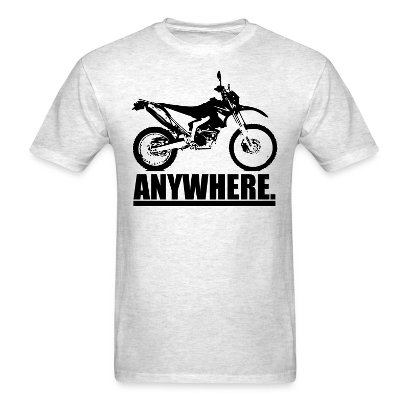 Original ANYWHERE - Black Logo - Men's T-Shirt