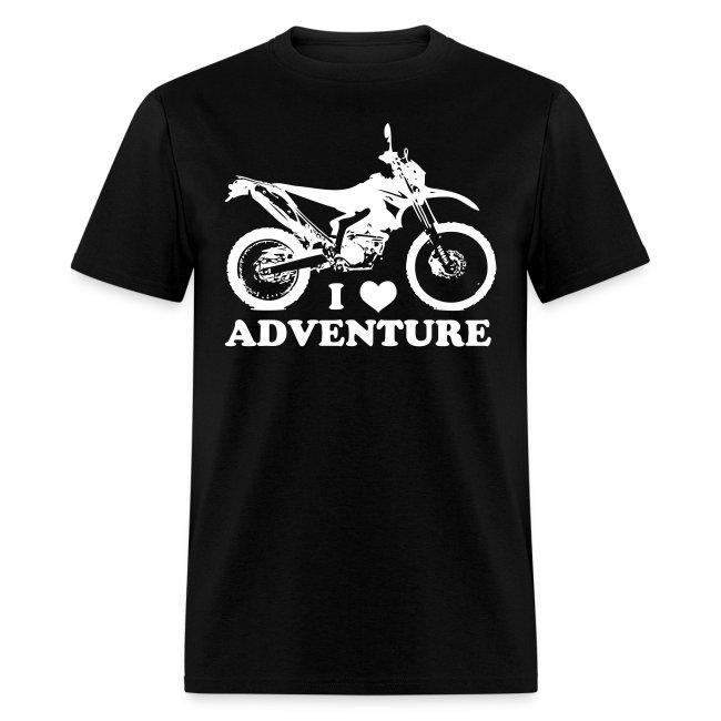 """WRR Luv Adventure"" - White Logo"