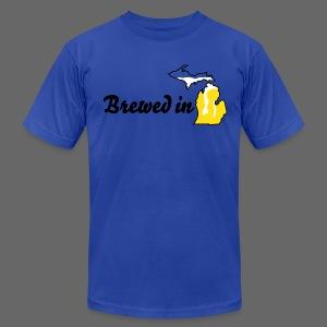 Brewed In Michigan - Men's Fine Jersey T-Shirt