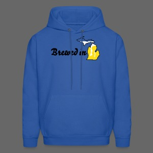 Brewed In Michigan - Men's Hoodie