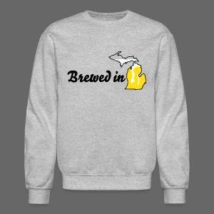 Brewed In Michigan - Crewneck Sweatshirt