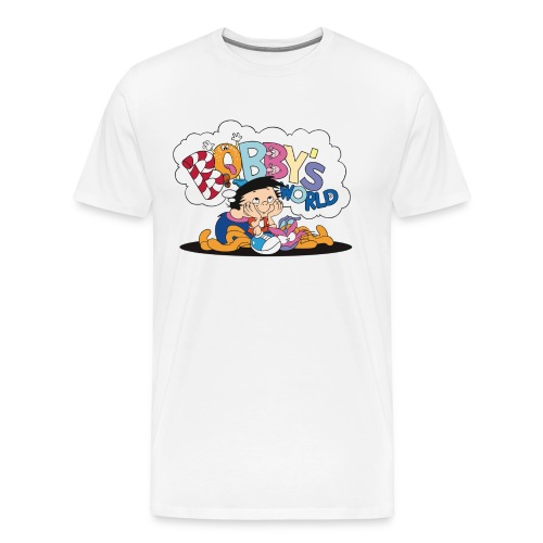 Bobby's World (White) - Men's Premium T-Shirt