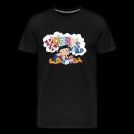 T-Shirts ~ Men's Premium T-Shirt ~ Bobby's World (Black)
