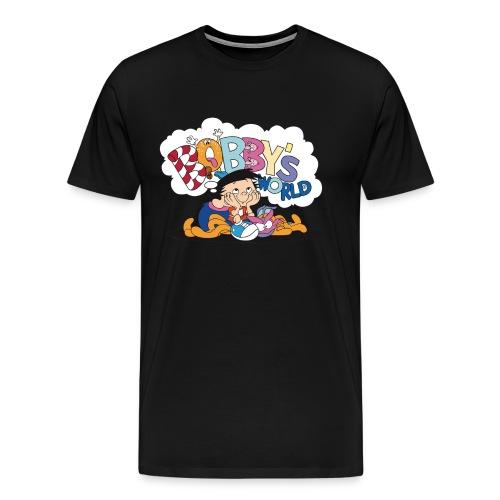 Bobby's World (Black) - Men's Premium T-Shirt