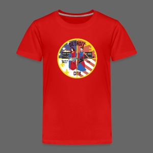 Detroit Rockin City Seal - Toddler Premium T-Shirt